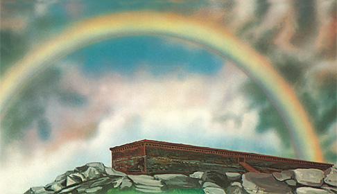 کشتی نوح و رنگینکمان