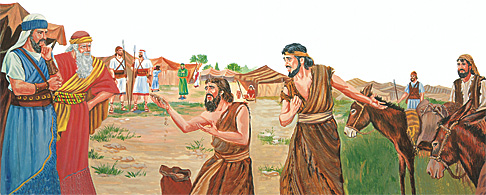 יהושע והגבעונים