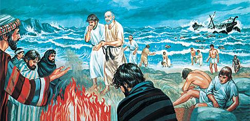 Նավաբեկությունից փրկվողները