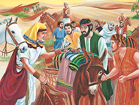 Հովսեփի եղբայրներին մեղադրում են գողության մեջ
