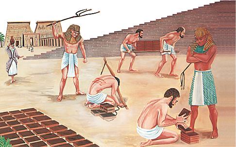 Եգիպտացիները ճնշում են իսրայելացիներին