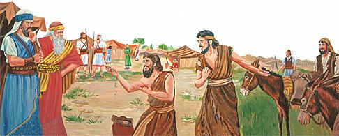 Հեսուն և գաբավոնացիները