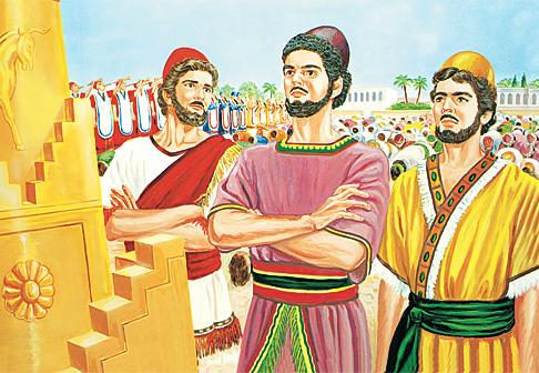 Shadaraki, Meshaki na Abedinego