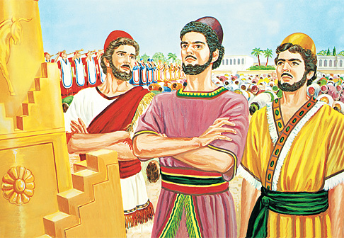Shadraka, Meshaki, na Abednego