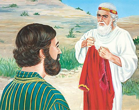 Ahiya man Yerobiam