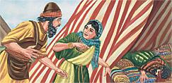 Baraka, Jaela, noho Sisera