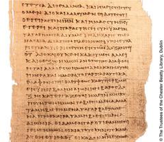 Ein Papyrus