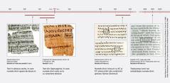 Fragmente din Scripturi în ebraică, în greacă și în engleză