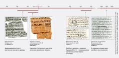 Отрывки из текста Библии на древнееврейском, древнегреческом и английском языках
