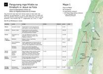 A7-A Pangunang mga Hitabo sa Kinabuhi ni Jesus sa Yuta—Una Pa sa Ministeryo ni Jesus