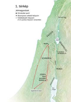 Helyszínek Jézus szolgálatában: Betlehem, Názáret, Jeruzsálem