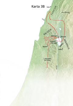 Isusova služba u Galileji, Feniciji i Dekapolisu