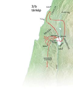 Helyszínek Jézus szolgálatában: Galilea, Fönícia és Dekapolisz
