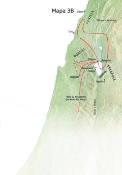 Mapa isonganga e fulu Yesu kasila umbangi muna zunga ya Ngalili, Fenisia ye Dekapole