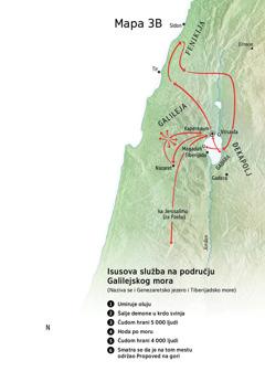 Isusova služba u Galileji, Fenikiji i Dekapolju