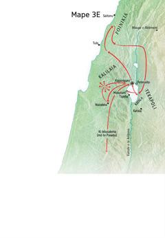 Mape o koga ne fai ei te galuega talai a Iesu i Kalilaia, Foinikia, mo Tekapoli