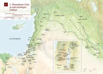 B2 1. Mooseksen kirja ja patriarkkojen matkat