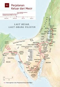 B3 Perjalanan Keluar dari Mesir