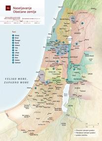 B6 Naseljavanje Obećane zemlje