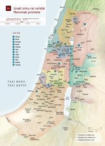 B6 Izraél simu rai ne'ebé Maromak promete