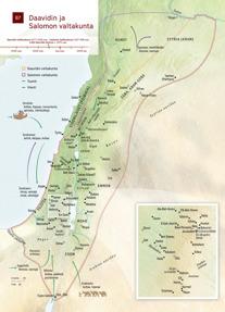 B7 Daavidin ja Salomon valtakunta