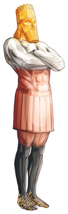 The image, or statue, of Daniel chapter 2