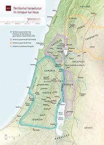 B10 Teritoriul Israelului în timpul lui Isus