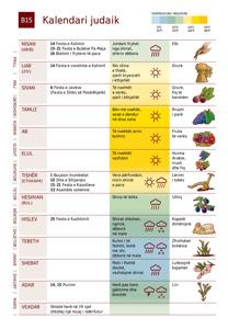 B15 Kalendari judaik