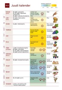 B15 Juudi kalender