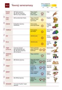 B15 Ýewreý senenamasy