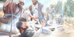 Довкола Савла спалахує світло з неба, і він падає на землю