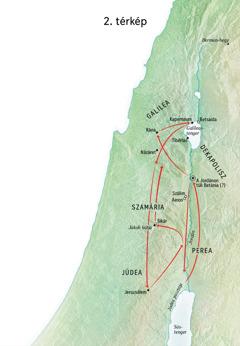 Helyszínek Jézus életében: Jordán vidéke és Júdea