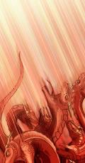 Змій, Сатана, скинений на землю, як передрікалося в Об'явленні