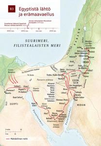B3 Egyptistä lähtö ja erämaavaellus