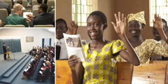 اجتماعات لشهود يهوه