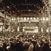 Ακροατήριο παρακολουθεί μια Βιβλική ομιλία στη συνέλευση των Σπουδαστών της Γραφής που έγινε το 1922 στο Σίνταρ Πόιντ του Οχάιο.
