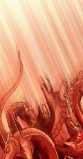Сатана, празмија, збачен на земљу, према пророчанству из Откривења