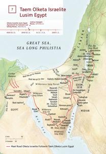 7 Taem Olketa Israelite Lusim Egypt