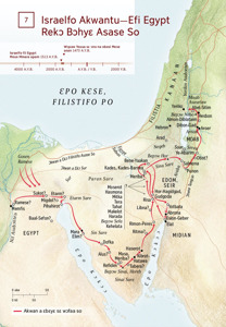 Israelfo Akwantu—Efi Egypt Rekɔ Bɔhyɛ Asase So