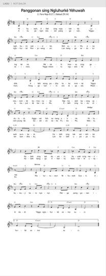 Panggonan sing Ngluhurké Yéhuwah