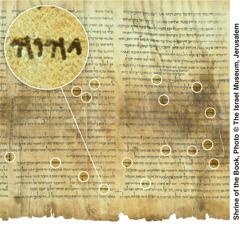 Rolo do Mar Morto contendo o livro de Isaías (Grande Rolo de Isaías)