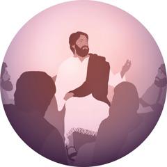يسوع يعلم تلاميذه