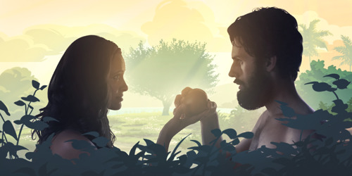 Adam and Eve disobey God, humans all through time have suffered the consequences, but a woman understands why when she reads the Bible