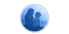 一位母親抱著復活的兒子
