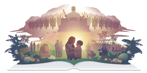 God's Kingdom, with Jesus as King, crushes Satan's rulership and restores peace to the earth