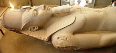 A statue from ancient Egypt