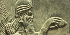 Assyrisches Wandrelief