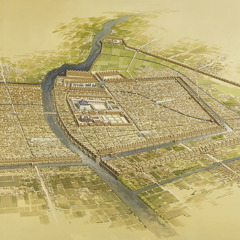 A painting of ancient Babylon