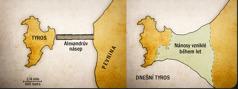 Dvě mapy Tyru