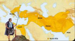 1. Alexandr Veliký; 2. Řecká říše
